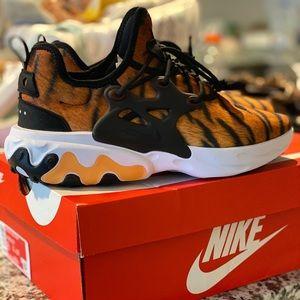 Nike React Presto PRM magma orange black white